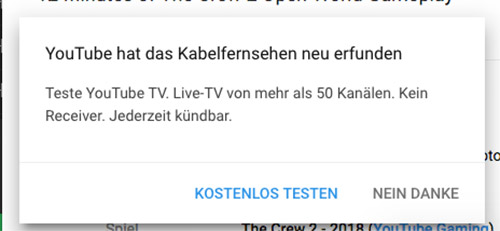 kommt youtube tv bald nach deutschland. Black Bedroom Furniture Sets. Home Design Ideas