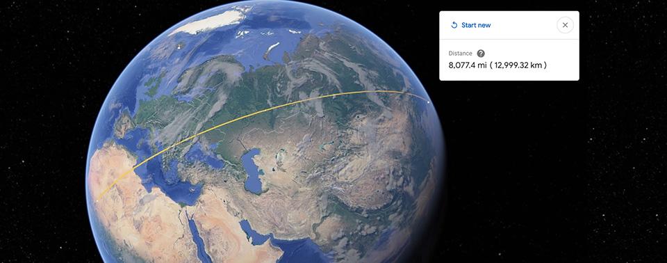 google earth mit messwerkzeug f r strecken und fl chen. Black Bedroom Furniture Sets. Home Design Ideas