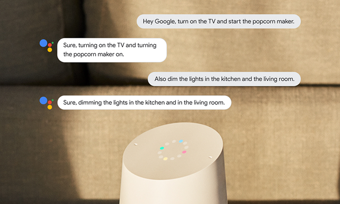 Google Home Continued Conversation