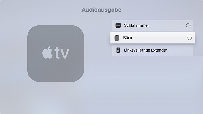 Homepod Am Apple Tv