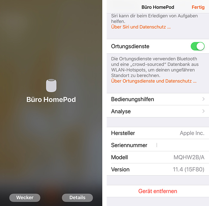 Homepod Aus Home App Entfernen
