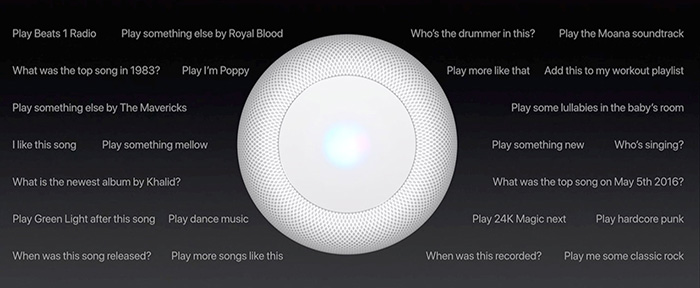 Homepod Befehle