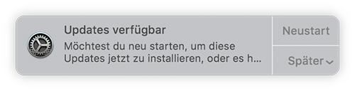 Mac Update Verfuegbar