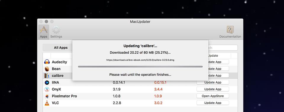 Mac Updates Feature