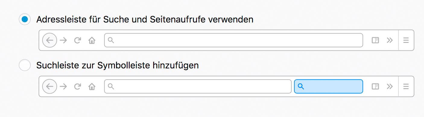 Suchen In Firefox