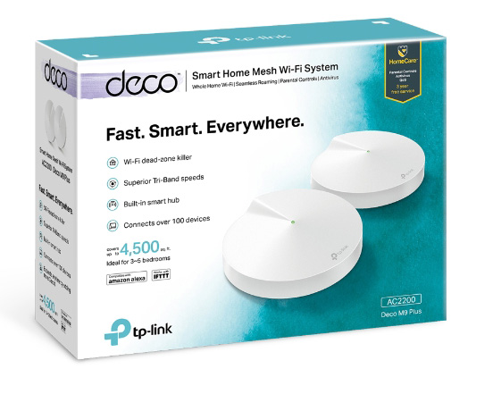 Tp Link Deco M9 Plus Packung