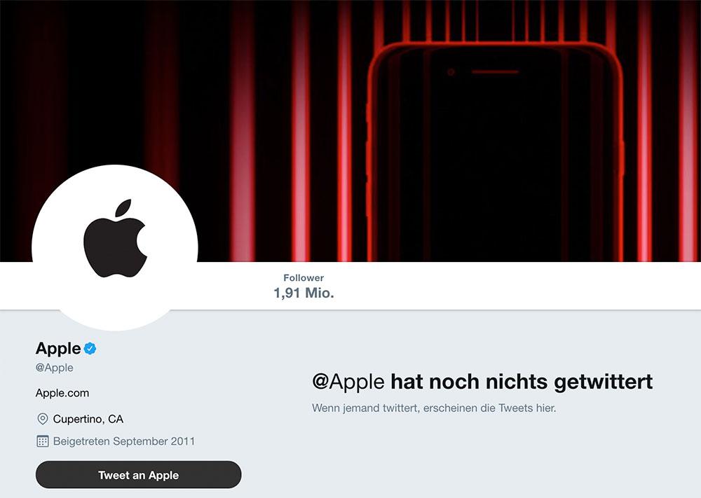 Twitter Apple