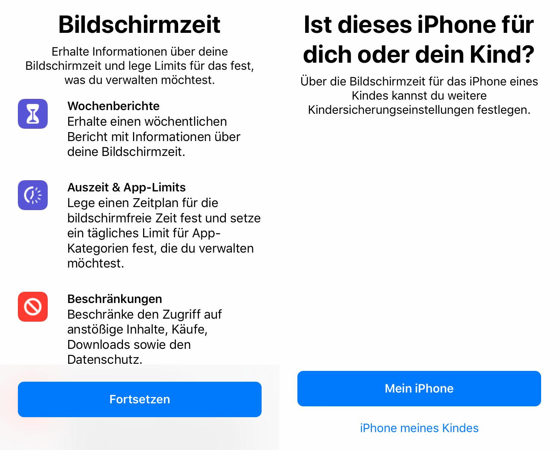 Bildschirmzeit Iphone