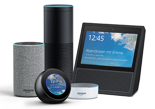 Amazon Echo Modelle