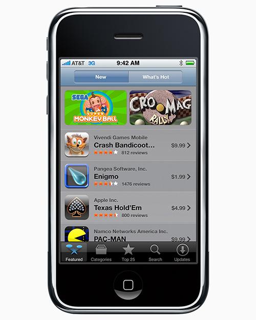 App Store Iphone 2008