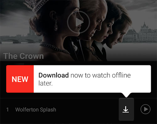 Netflix: Smart Downloads lädt automatisch neue Folgen