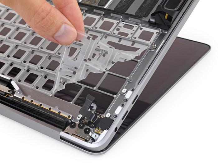 Macbook Pro Tastatur Zerlegt