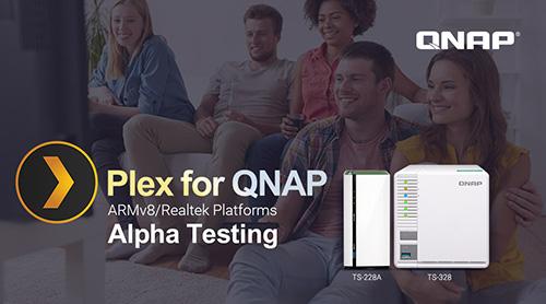 Qnap Armv8 Mit Plex Server