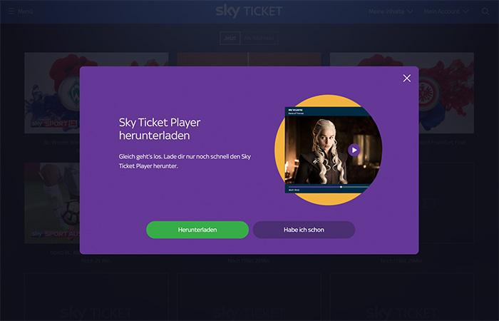Sky Ticket Mac Download