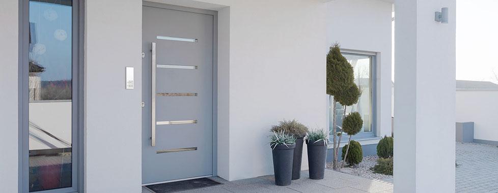 doorline slim dect t r sprechanlage mit dect anbindung. Black Bedroom Furniture Sets. Home Design Ideas