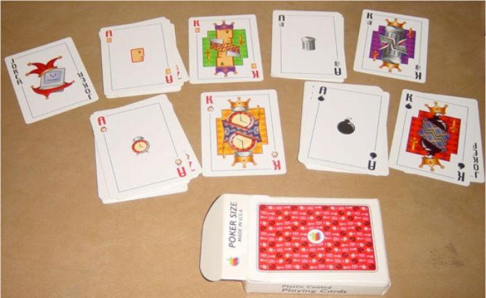 Apple Spielkarten System 7