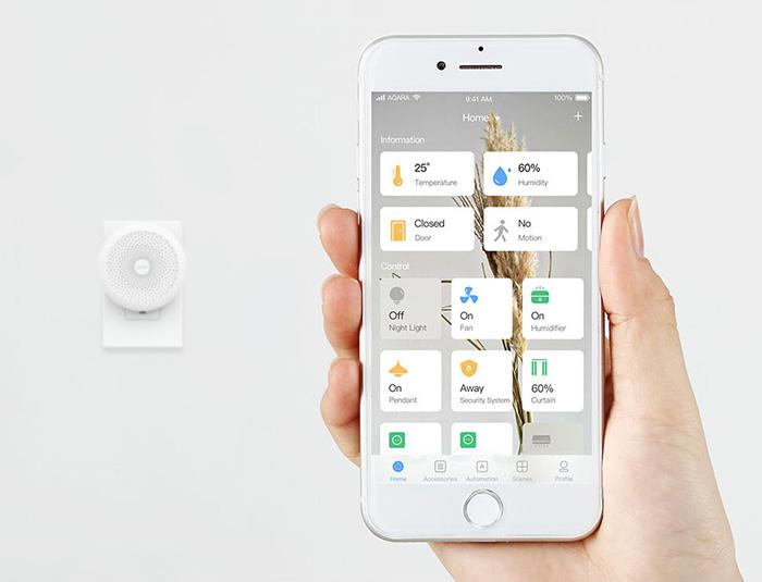 Aqara Hub Home App