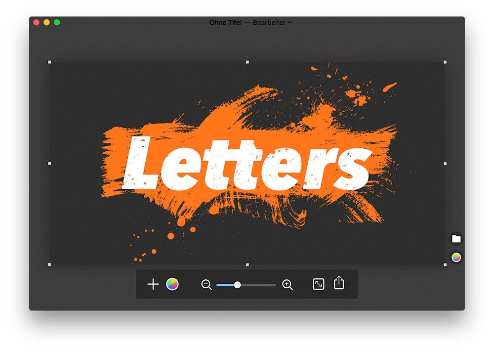 Letter Schrift