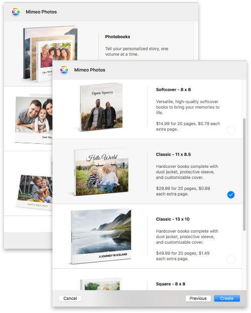 Mimeo Fotos Plugin Mac