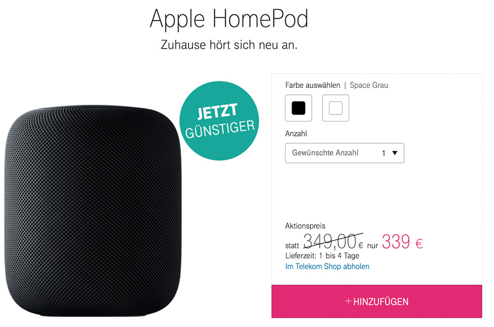 Telekom Homepod