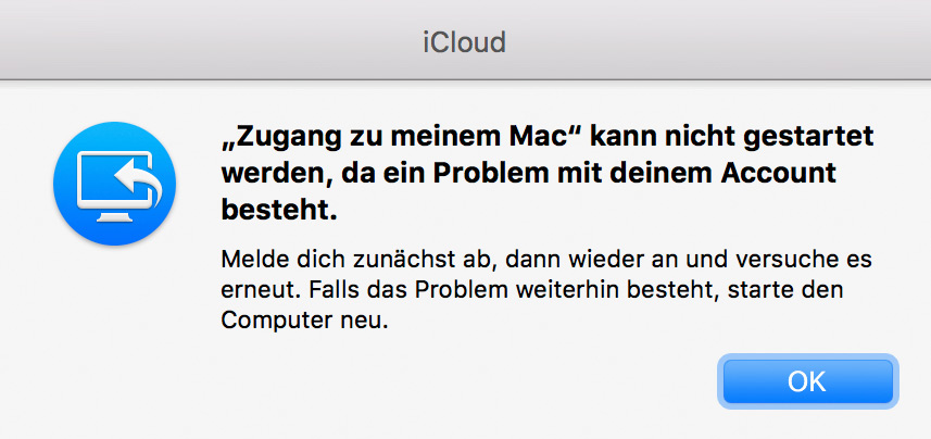 Zugang Mac