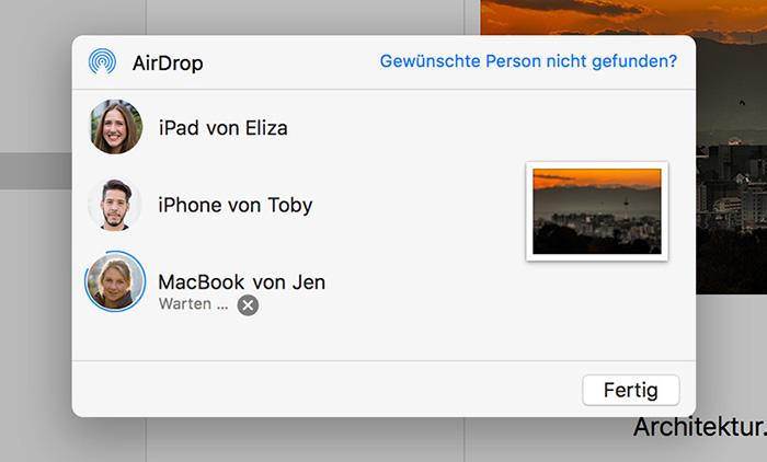 Airdorp Fenster Mac Finder