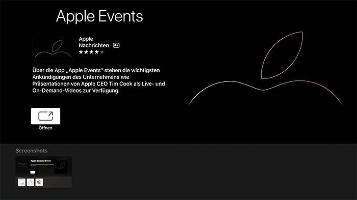 Apple Events App Apple Tv App Store