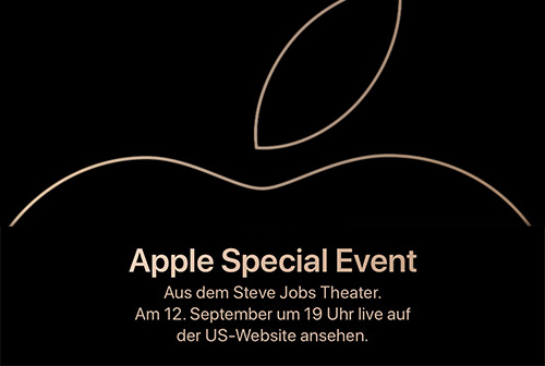 Gather Round Apple Special Event September 2018