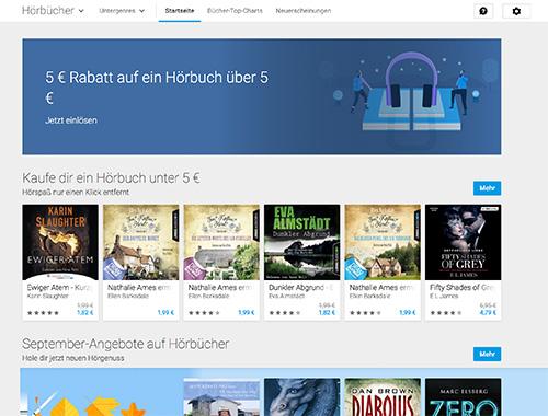 Google Play Hoerbuecher