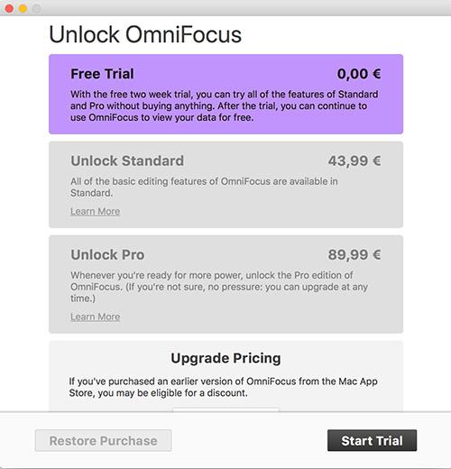 Mac App Store Free Trial