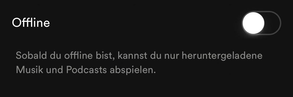 Offline Spotify