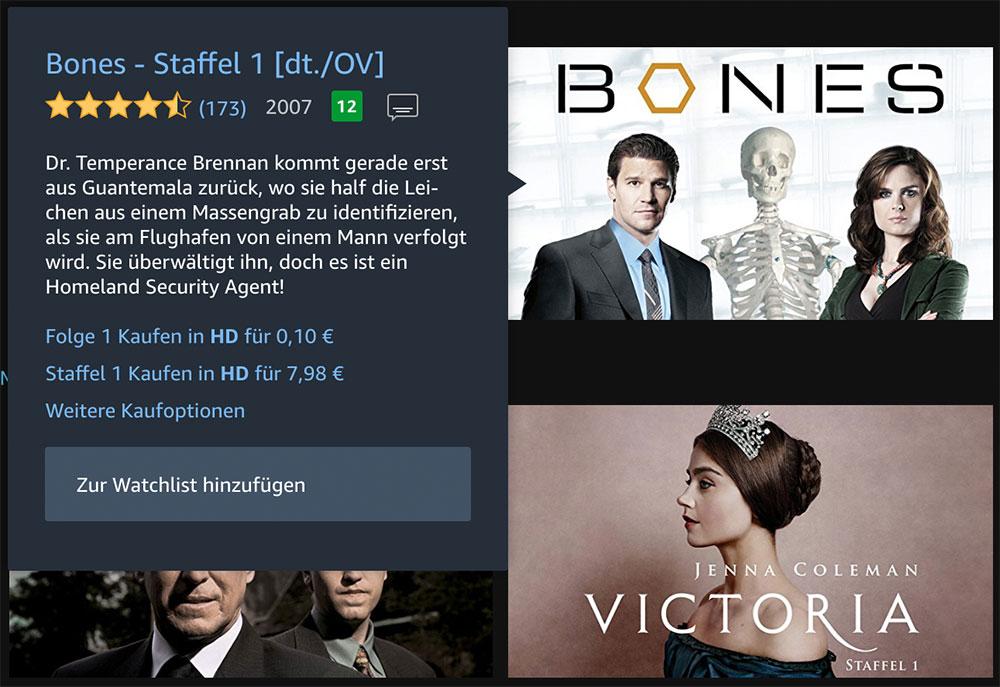 Serien Staffeln