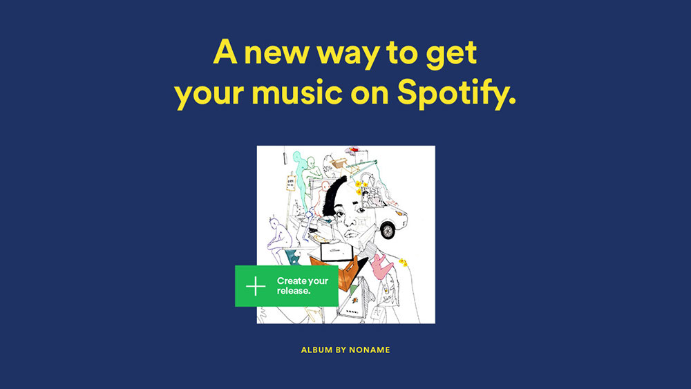 Spotify Music Upload