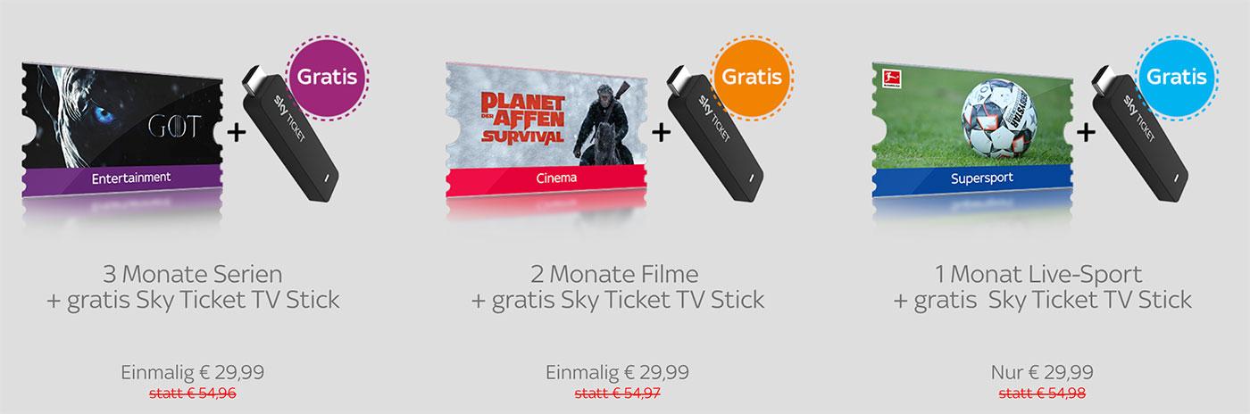 Vorbild Amazon Der Sky Ticket Tv Stick Startet Ifunde