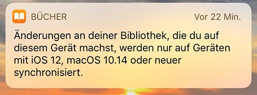 Books Buecher App Sync