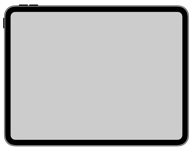 Ipad Pro 2018 Icon Quer