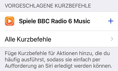 Siri Kurzbefehl Radio Auf Homepod