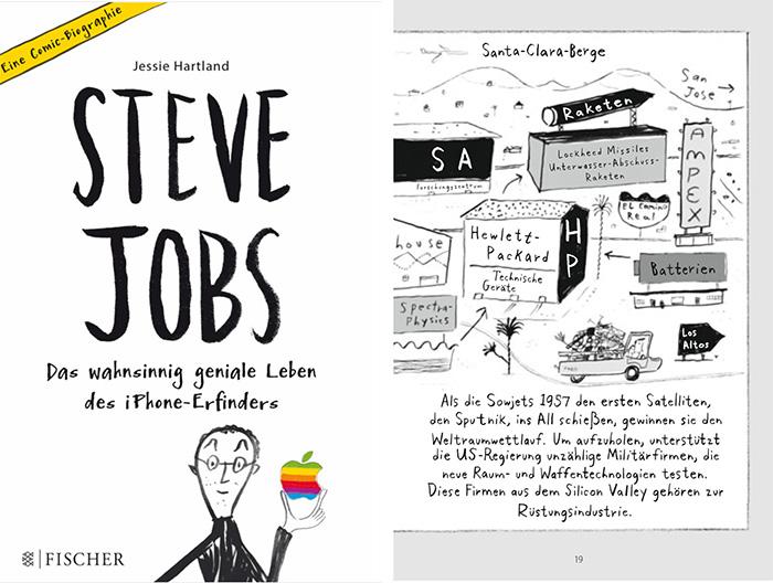 Steve Jobs Biografie Comic