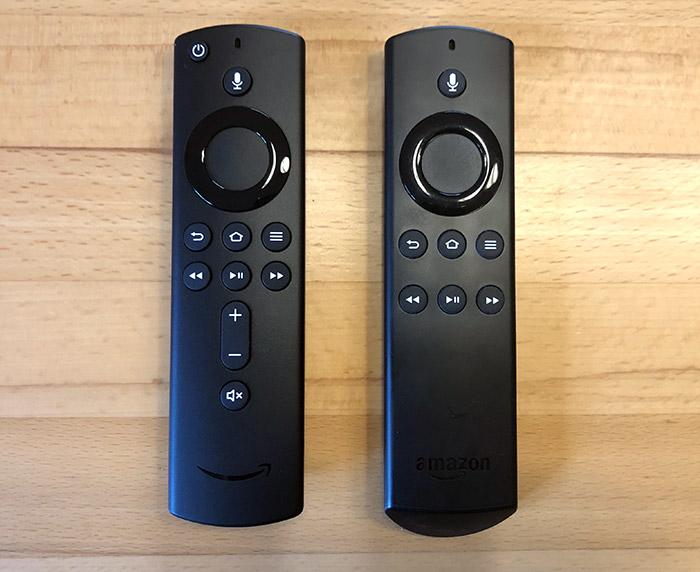 Alexa Sound Remote Control Old New