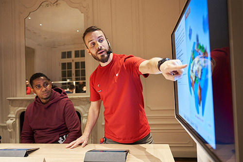 Apple Store Workshop