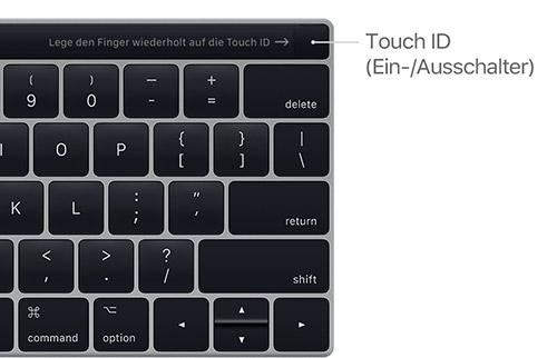 Apple Touc Id Ein Aus Schalter