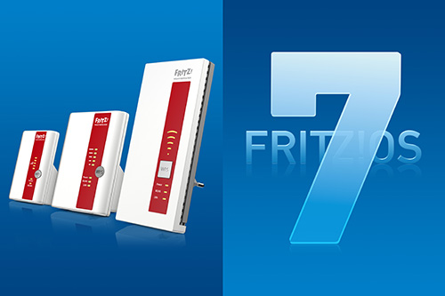 Avm Fritzos 7 Mesh Repeater