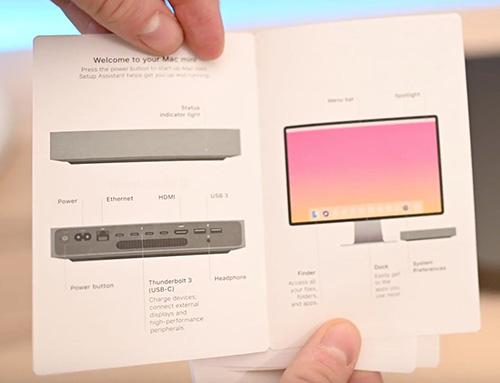 Bildschirm In Mac Mini Anleitung