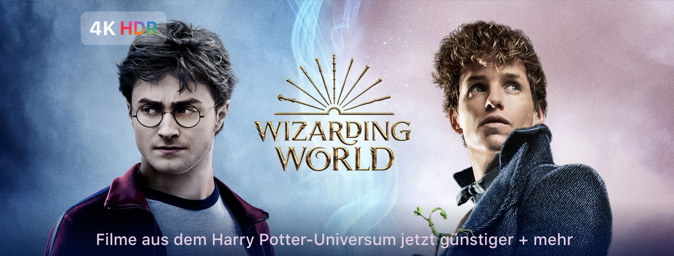 Itunes Aktion Alle Harry Potter Filme In 4k Hdr Ifun De