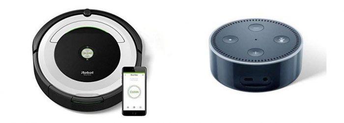 IRobot Roomba 691 Plus Amazon Echo Dot