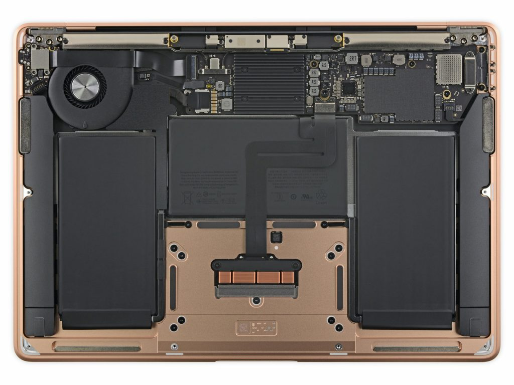 Inneren Macbook Air
