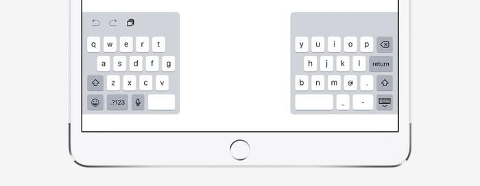 Ipad Geteilte Tastatur Ios 12