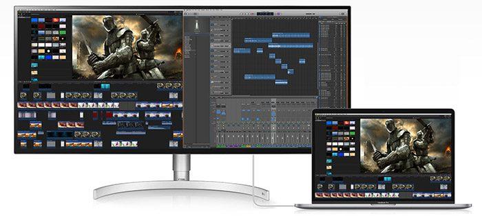Lg Ultrawide Bildschirm 34WK95U Mac
