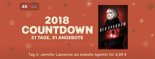 Apple 2018 Countdown Weihnachten