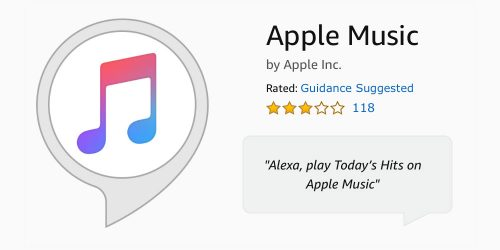 Apple Music Alexa Skill